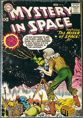 Mystery in Space #41 The Miser of Space!