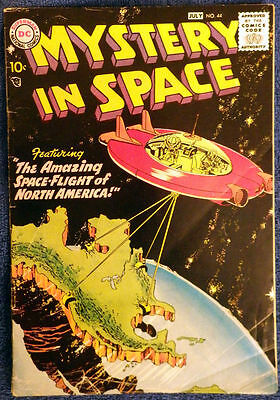Mystery in Space #44 The Amazing Space-Flight of North America!