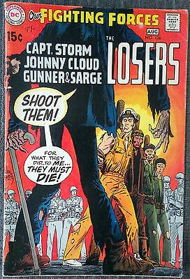 Our Fighting Forces #126 - Shoot Them! The Losers!  USS Stevens! Sam Glanzman!