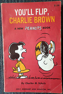 Peanuts #21 - You'll Flip, Charlie Brown Holt Rinehart - 1967 - Charles M Schulz