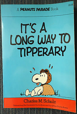 Peanuts Parade #2 -It's a Long Way to Tipperary! 2nd Printing - Great Shape!