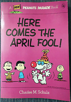 Peanuts Parade #24 - Here Comes the April Fool! 1st Printing! Great Shape!