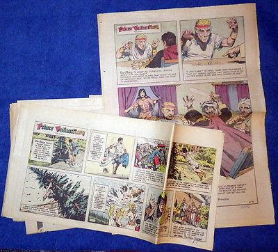 Prince Valiant 1976 27 Sunday comic strips - Hal Foster