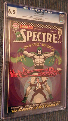 Showcase #64 CGC 6.5 OW/W Pages - Third silver age Spectre!!