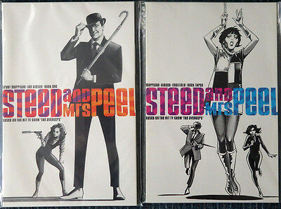 Steed and Mrs. Peel (Eclipse 1990) #1-#3 Grant Morrison! Ian Gibson! High Grade!
