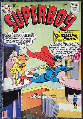 Superboy #81 - The Weakling from Earth!