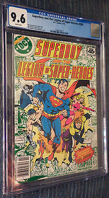 Superboy and the Legion of Super-Heroes #250 CGC 9.6 White Pages - Great Cover!