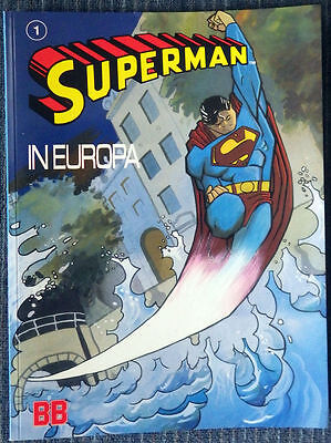Superman in Europa ! Unique must have for Superman collector!! High Grade!!