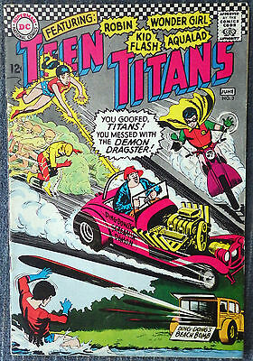 Teen Titans #3 (1966) - The Demon Dragster!!