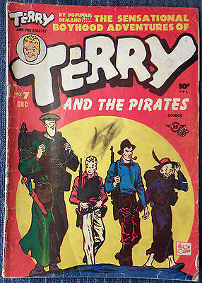 Terry and the Pirates Comics #7 - Harvey 1947 - Milton Caniff!