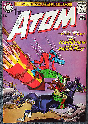 The Atom #6 - The Highwayman and the Mighty Mite!