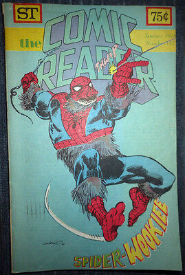 The Comic Reader #152 - 1978 Newzine - Dave Cockrum cover of Spider-Wookie!