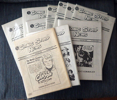 The Comic Strip News - All 19 Issues! Great condition!