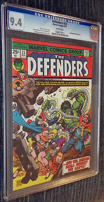 The Defenders #23 CGC 9.4 White pages  - Yellowjacket! Sons of the Serpent!