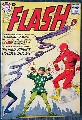 The Flash #138 - The Pied Piper's Double Doom! Elongated Man! Kid Flash!