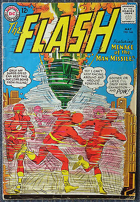 The Flash #144 - Menace of the Man Missile! Kid Flash!