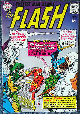 The Flash #155 - Gauntlet of Super-Villains! Rogues Gallery!