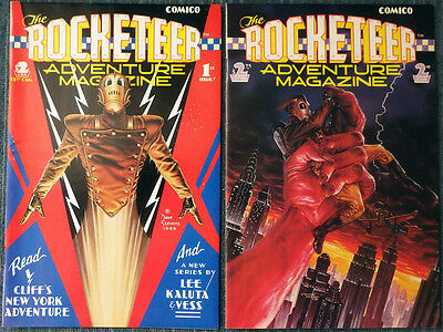 The Rocketeer Adventure Magazine #1 #2 #3 Complete Dave Stevens! High Grade!!
