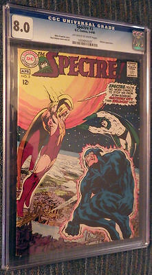 The Spectre #3 CGC 8.0 OW/W Pages - Neal Adams! Guest starring ... Wildcat!