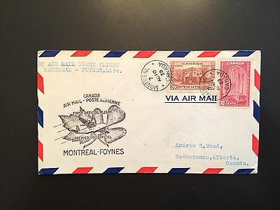Canada Airmail Cover to Ireland