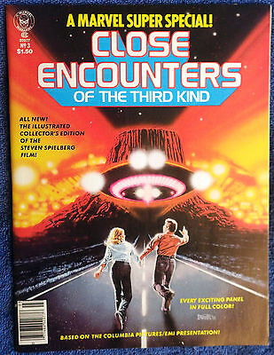 Close Encounters of the Third Kind - Marvel Comics Super Special #3 - High Grade