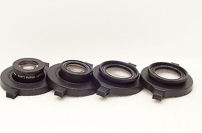 Full set of Raynox macro adapters: DCR-150, DCR-250, MSN-202, MSN-505 + 2 GIFTS