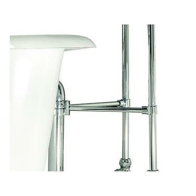 Elizabethan Classics Brace Ring Kit for Claw Foot Tub Drain and Free-Standing Su