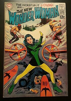 Wonder Woman #181 - I-Ching  -  (Mar-Apr 1969, DC) - VG/FN