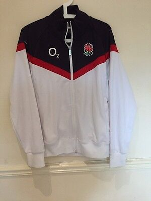 """Nike England Rugby Jacket Chest Size 42"""" Good Condition"""