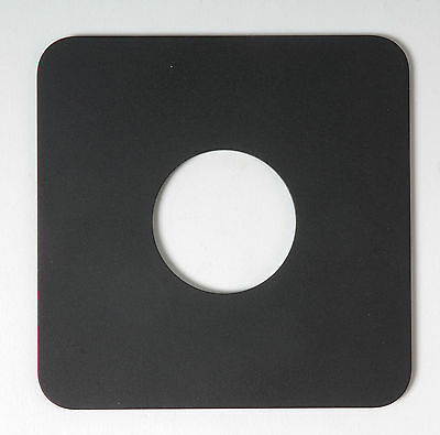Arca Swiss 4x5 Lens Board 110mm x110mm Copal #0 Camera Photograph