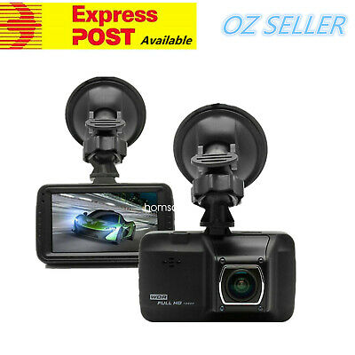 "3"" LCD Dash Cam 170° FHD 1080P Camera Car DVR Video Recorder 8/16/32GB TF Card"