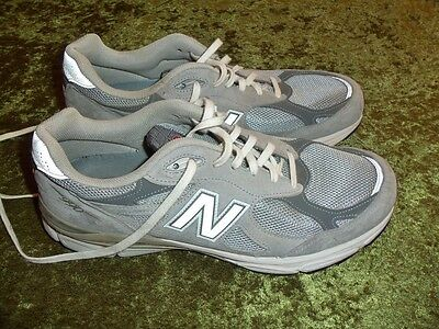 Men's New Balance 990 leather running shoes sneakers size 10.5 D