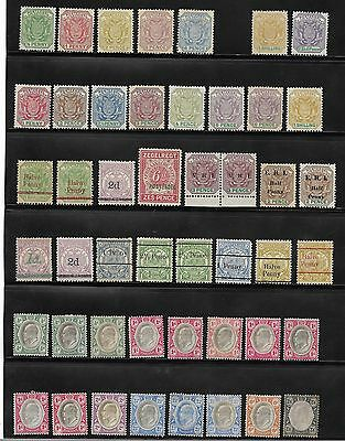 South Africa Stamp Transvaal - Collection Of Unused Stamps