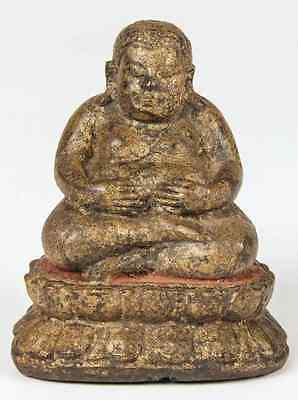 Antique Thai Bronze Buddhist Sculpture 18th Century