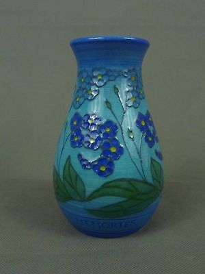 Dennis Chinaworks MEMORIES Forget Me Not  Vase