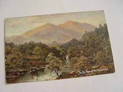 TOP556 - Postcard -  In the Pass of the Trossachs