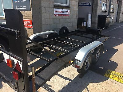 Twin Axle Car Recovery Trailer