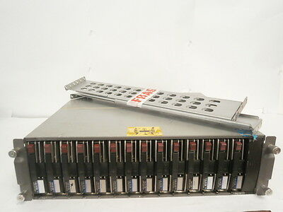 HP 70-40434-01 14 Bay SCSI Hard Drive Storage Array 14 x 146GB 2xPSU *WORKING* !