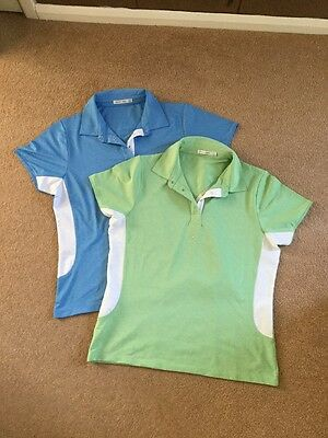 Green Lamb Ladies Golf Shirts, Size 12, Fab Condition