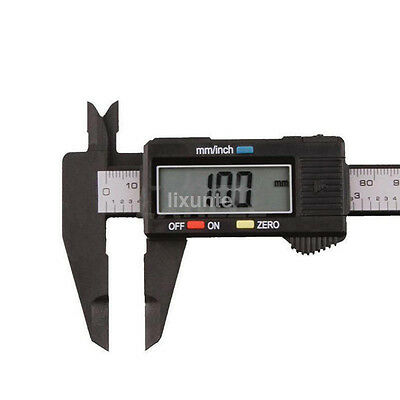 Popular 150MM 6inch LCD Digital Electronic Vernier Caliper Gauge Micrometer UK