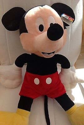 Disney Large Mickey Mouse Clubhouse Soft Toy. 24 Ins Tall. With Tag.