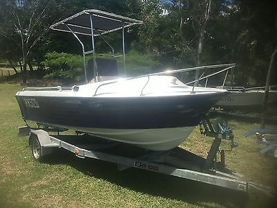 Sportsman Craft 4.9 Meters Hull And Trailer Only Can Freight Australia Wide