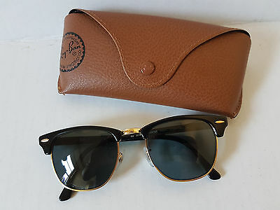 Rayban Clubmaster Sunglasses Glasses Ladies or Gents Spectacles RB3018 W0365