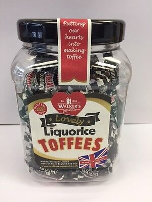 Walkers Nonsuch Liquorice Toffee Gift Jar 450g