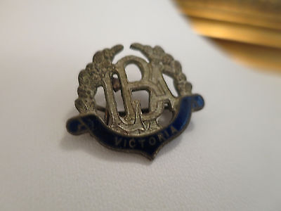 Vintage Swann & Hudson Lba Badge, Lawn Bowls Association Of Victoria