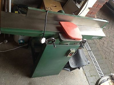 "6"" jointer planer machine single phase 240v long bed cast iron. 42 Inch Bed."