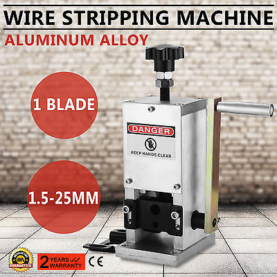 Cable Wire Stripping Machine 1 Blade 1.5-25mm Manual Hand SCIENTIFIC PROCESS