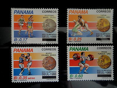 PANAMA 1989 Stamps SET SPORT OLYMPIC GAMES SEOUL -  MNH - VF - r3b670