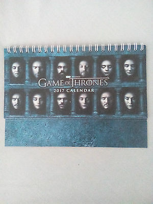 Game of Thrones 2017 Calendar