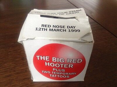 The Big Red Hooter. 1999 Squeaky Collectable Nose In Box.